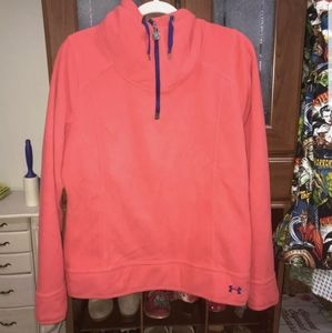 Mens Under Armour fleece sweater pullover size L